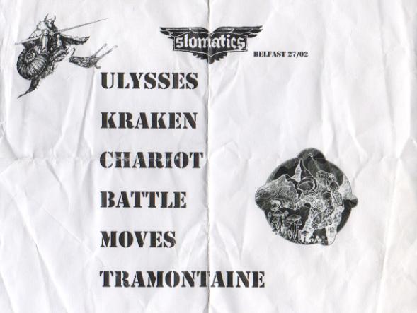 Slomatics Setlist 270216
